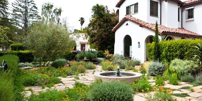 Drought Resistant Front Garden Garden Design Joseph Marek Landscape Architecture Santa Monica, CA