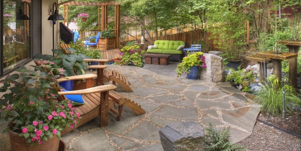 Rustic landscaping dos don ts landscaping network - Gardening for small spaces minimalist ...