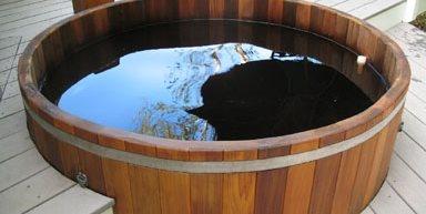 Conventional Deck Maine Cedar Hot Tubs