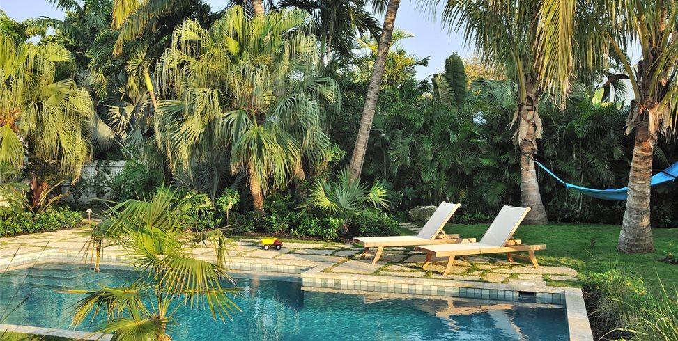Hammock, Shower, Palms Craig Reynolds Landscape Architecture Key West, FL