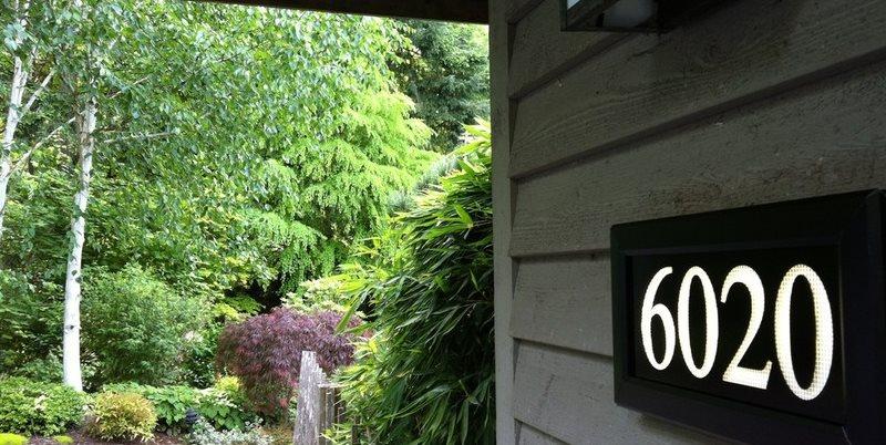Lighted Address Sign Address LED Seattle, WA