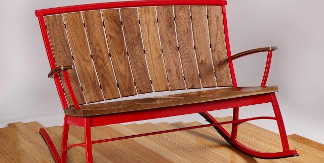 Modern, Rocker, Settee Board by Design Carbondale, CO
