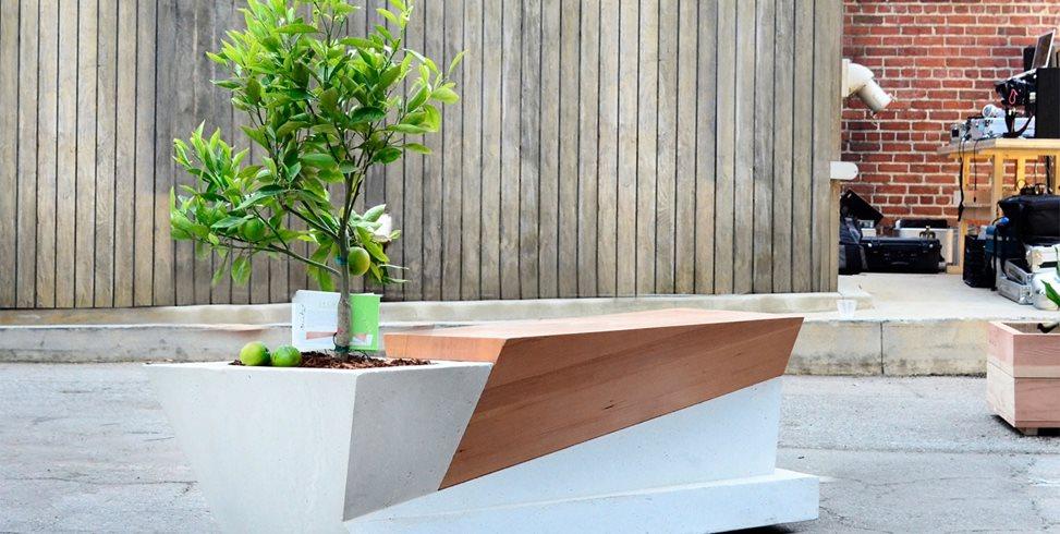 Planter Benches Blafu Designs