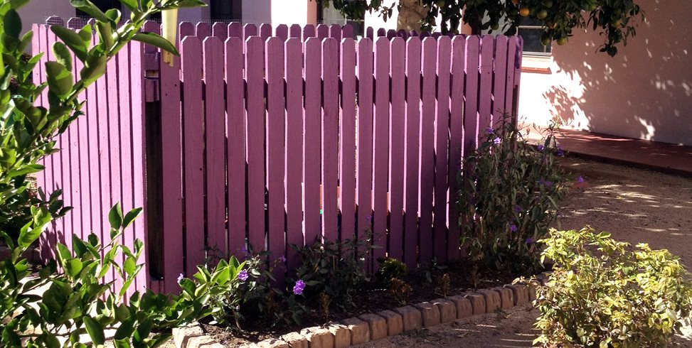 Purple Fence Landscaping Network Calimesa, CA