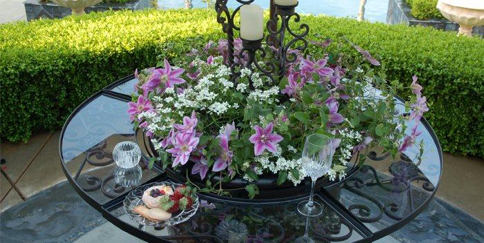 The Ledge, Pot Attachment, Table Legendary Patio & Home Designs Fresno, CA