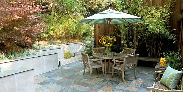 Patio Walls Fire Pit Huettl Landscape Architecture Walnut Creek, CA