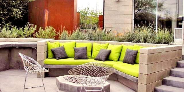 Modern Patio Design Patio REALM Tucson, AZ