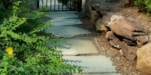 Flagstone Walkway Design Ideas - Interior Design
