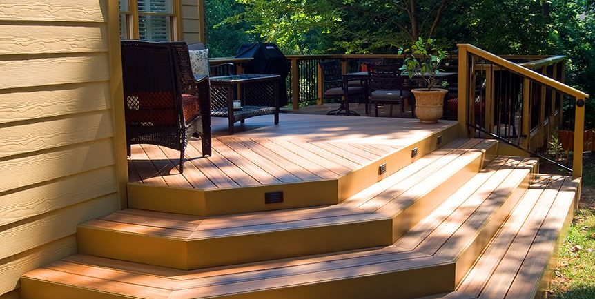 Deck Lighting Peach Tree Decks & Porches Atlanta, GA