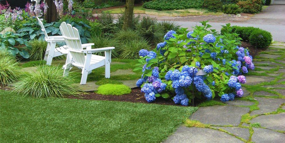 Front, Garden, Shade Spring Greenworks Bellevue, WA