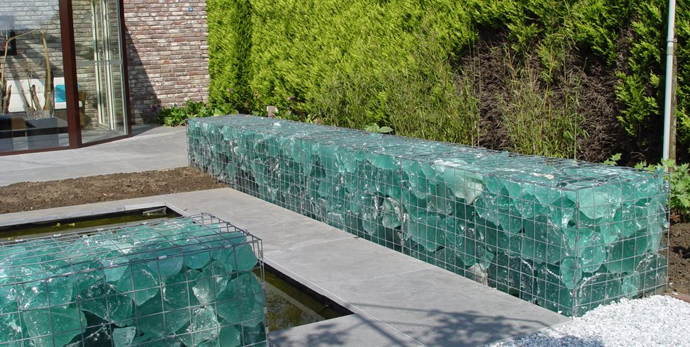 Gabion retaining wall ideas landscaping network Gabion wall design