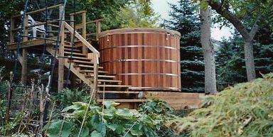 Set Tub Maine Cedar Hot Tubs