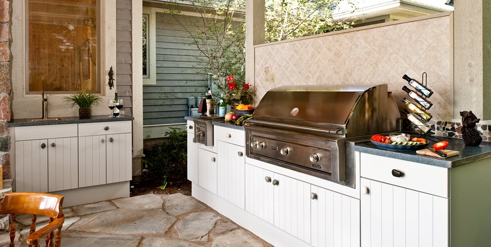 Outdoor Kitchen Cabinets Landscaping Network - Outdoor kitchens cabinets