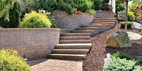 Paver Stairs, Paver Treads StoneScapes Design Hanover, MD