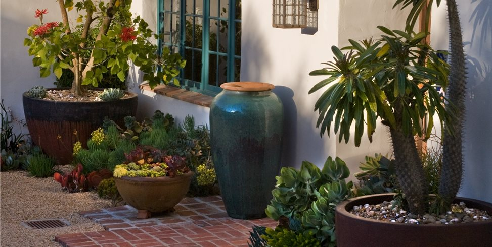 big container gardens grace design associates santa barbara ca
