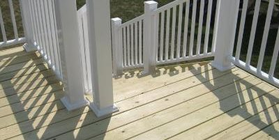 Composite Deck Railing, Azek Railing Archadeck of Fort Wayne Ft. Wayne, IN