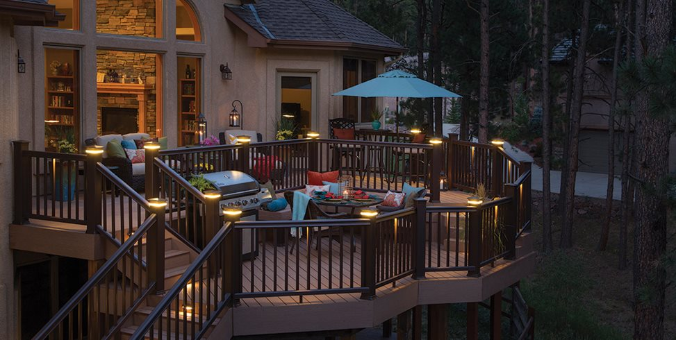 Deck Lighting Ideas - Landscaping Network on swimming pool post lighting, outdoor patio track lighting, outdoor patio led lighting, outdoor patio umbrella lighting, outdoor patio wall lighting, outdoor walkway post lighting, garden post lighting, outdoor patio lighting fixtures, outdoor fence post lighting, outdoor stone post lighting, outdoor patio recessed lighting,