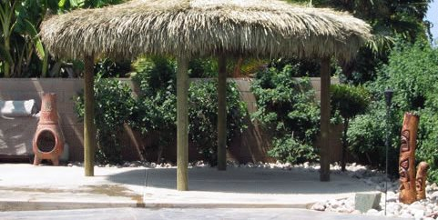 Thatch Shade Palapa Kings Oceanside, CA