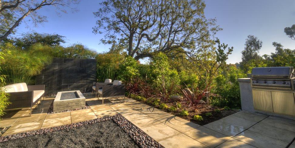 Contemporary Backyard Backyard Landscaping Z Freedman Landscape Design Venice, CA