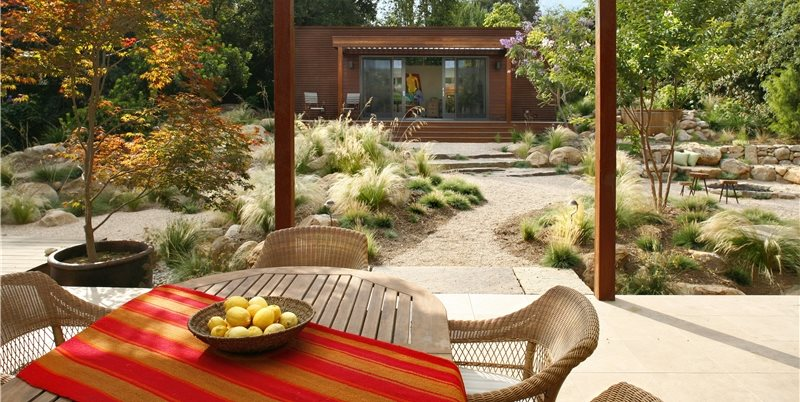 Native Landscaping, Backyard Design Backyard Landscaping Grace Design Associates Santa Barbara, CA