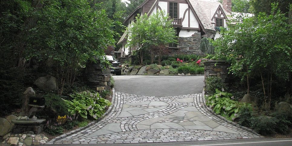 Beautiful Driveway, Driveway Apron Driveway Sitescapes Landscape Design Stony Brook, NY