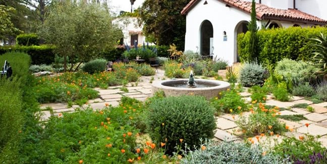 Drought Resistant Front Garden Front Yard Landscaping Joseph Marek Landscape Architecture Santa Monica, CA