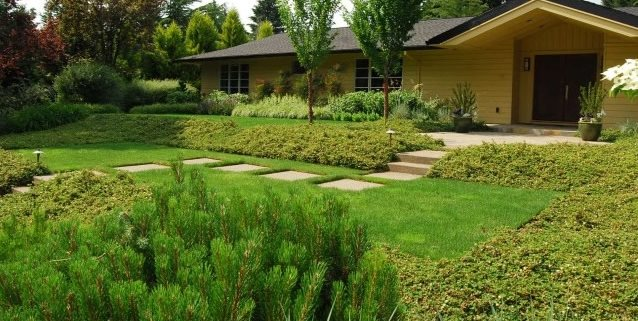 Front Garden Design Front Yard Landscaping Samuel H. Williamson Associates Portland, OR