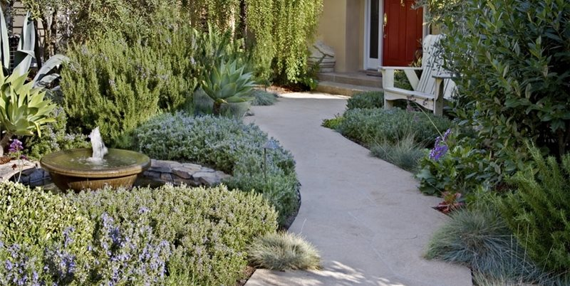 Small Front Yard Design Front Yard Landscaping ALIDA ALDRICH LANDSCAPE DESIGN Santa Barbara, CA
