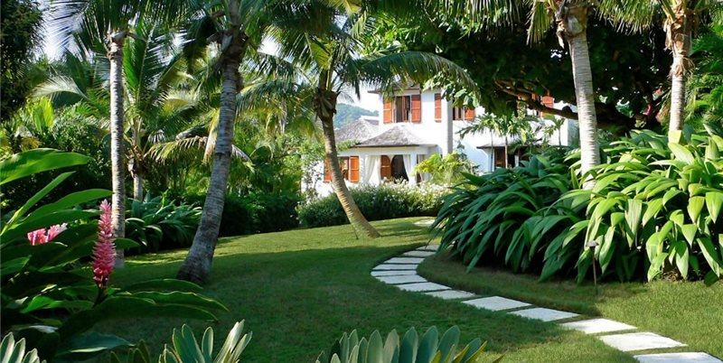 Tropical Walkway Garden Design Craig Reynolds Landscape Architecture Key West, FL