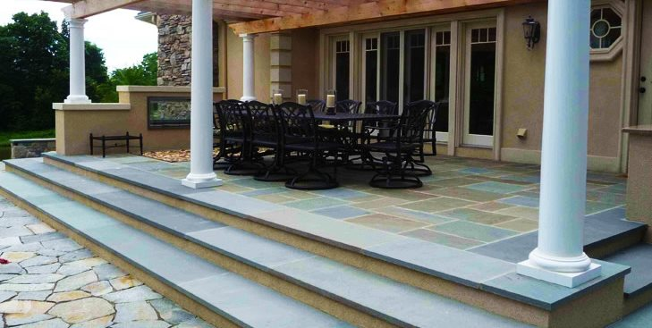 Patio Cover Columns Pergola and Patio Cover Christensen Landscape Services Northford, CT