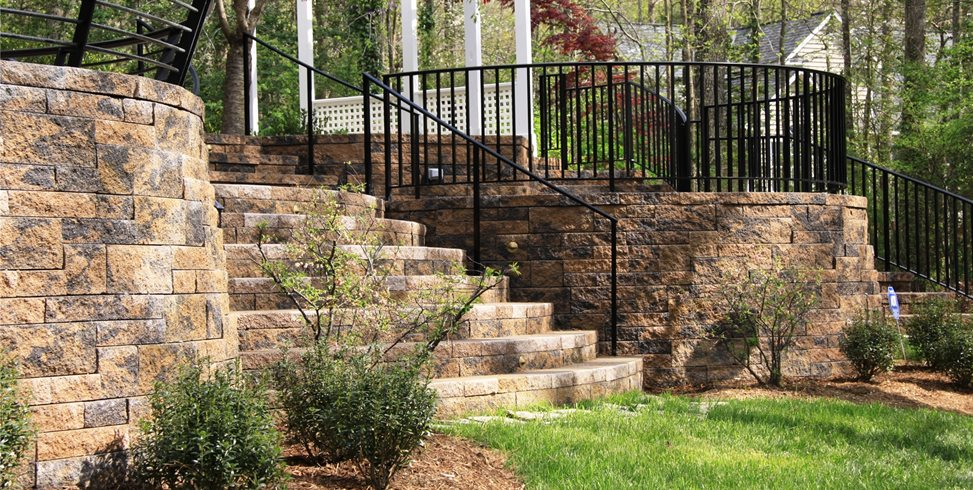 Block, Retaining, Wall Retaining and Landscape Wall Mid Atlantic Enterprise Inc Williamsburg, VA