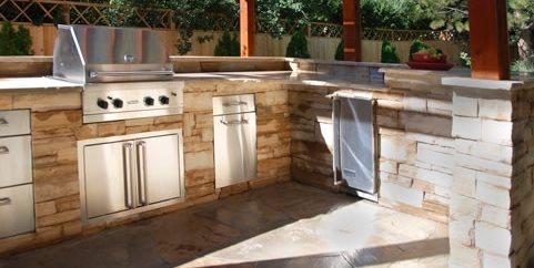 Designing Outdoor Kitchen outdoor kitchen designs & ideas - landscaping network