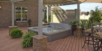 Spa Deck, Hot Tub Deck Swimming Pool Archadeck of Fort Wayne Ft. Wayne, IN