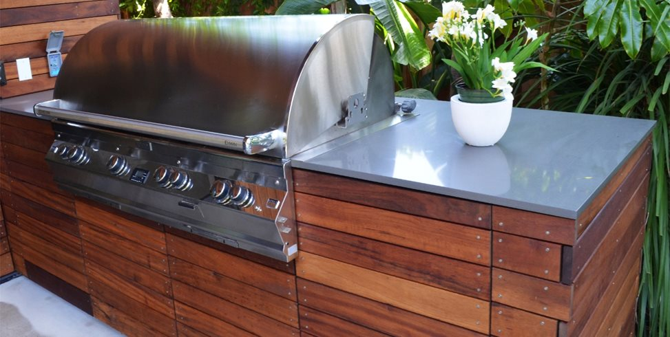 exotic hardwood outdoor cabinets