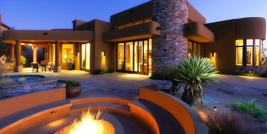 Xeriscape Backyard Boxhill Landscape Design Tucson, AZ