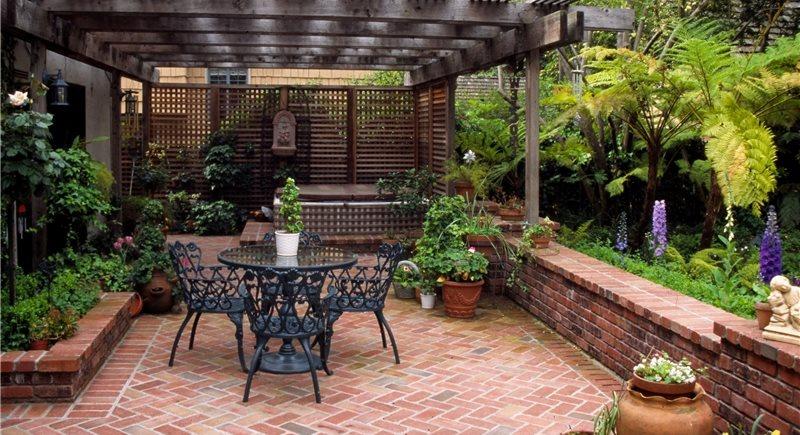 Landscape Empty Backyard : Backyard Landscape Types
