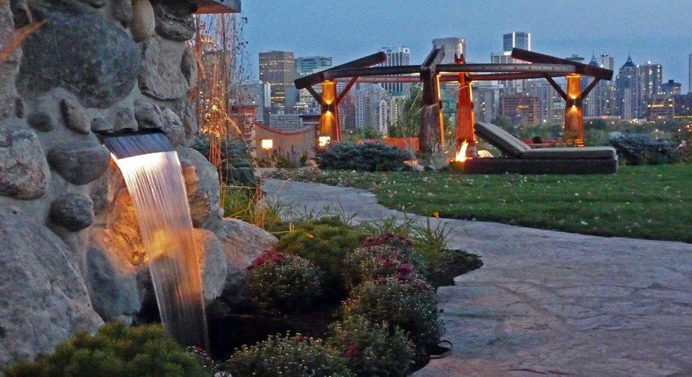 Water Feature, Decorative Fountain DDLA Design Dallas, TX