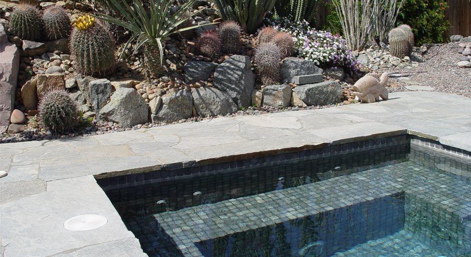 Spa Tile Maureen Gilmer Morongo Valley, CA